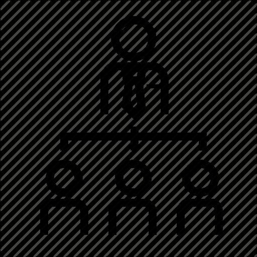 Business, Employe, Employee, Link, Marketing, Organizer Icon