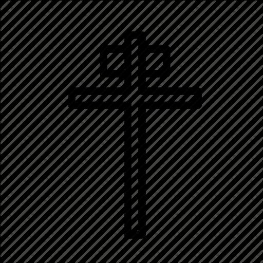 Cross, Crucifixion, Easter, Jesus, Sacrifice Icon