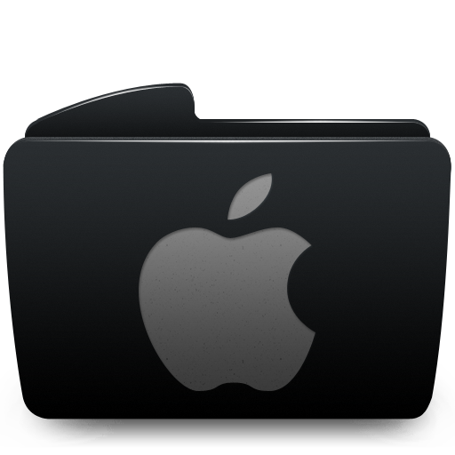 Black Folder Icon Mac Images