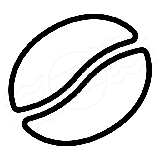 Coffee Bean Icon Vector Images Tattoo Ideas Coffee Bean Art