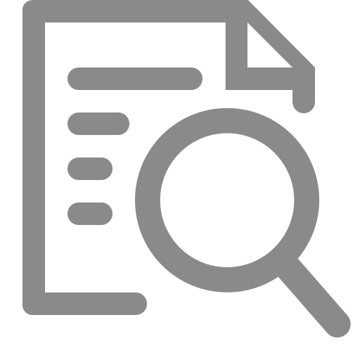 Analysis, Audit, Binoculars Icon With Png And Vector Format