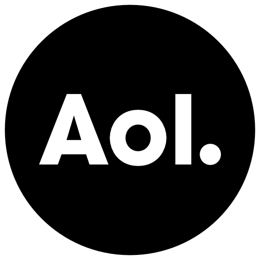 Aol Icon Free Of Address Book Providers In Black White Icons