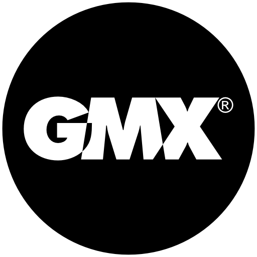Gmx Icon Free Of Address Book Providers In Black White Icons