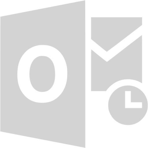 Light Gray Outlook Icon