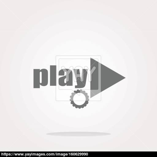 Vector Video Play Button