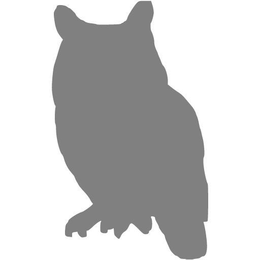 Gray Owl Icon