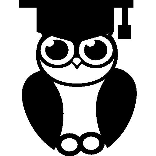 Graduation Owl Icons Free Download