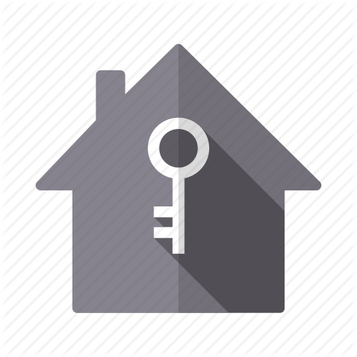 Home, House, Key, Ownership, Property, Real Estate, Security Icon