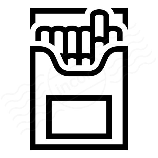 Iconexperience I Collection Cigarette Packet Icon