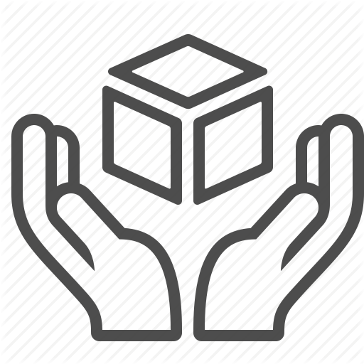 Box, Crate, Fragile, Give, Hand, Handle With Care, Package Icon