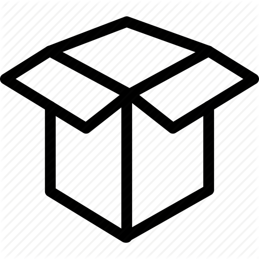 Box, Dropbox, Empty Package, Package Icon