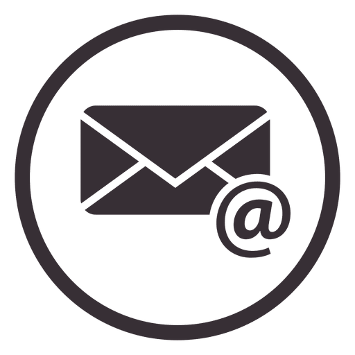 Email Circle Icon Design