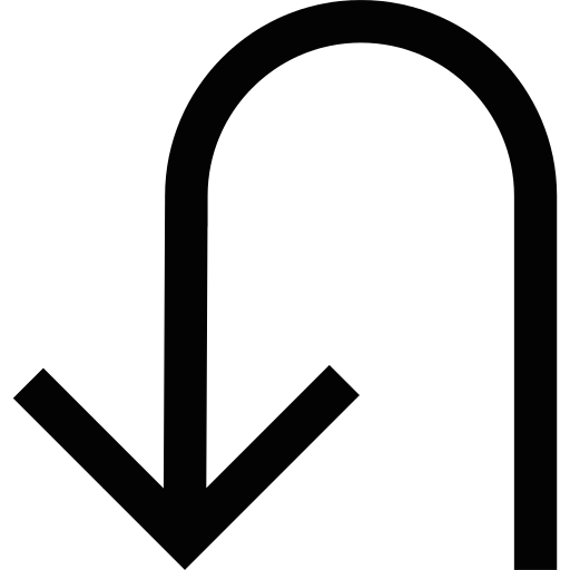 Turn Arround Arrow Png Icon