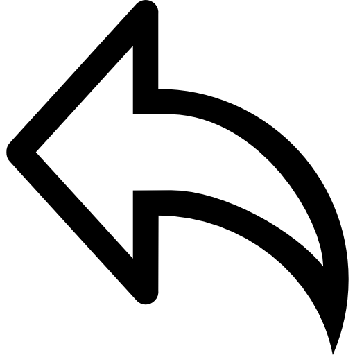 Arrows Flat Black Icon