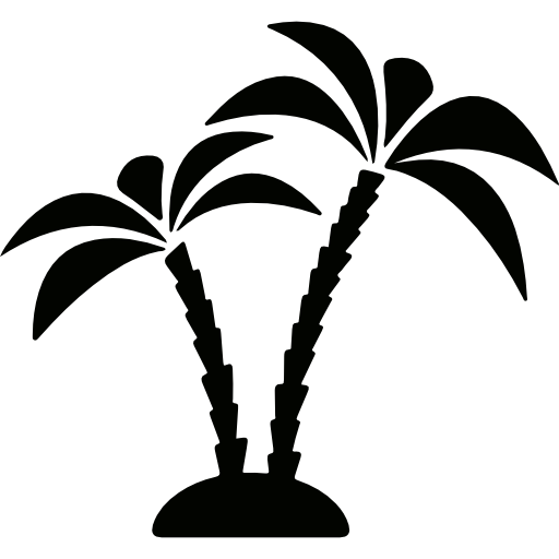 Palm Trees Icons Free Download