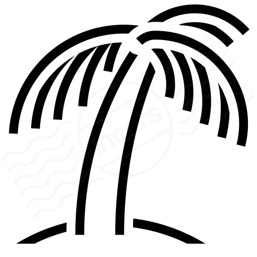 Iconexperience I Collection Palm Tree Icon