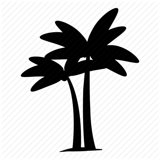 Nature, Palm, Tree Icon