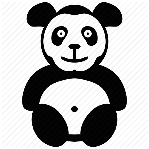 Animal, Bear, Panda, Toy Icon