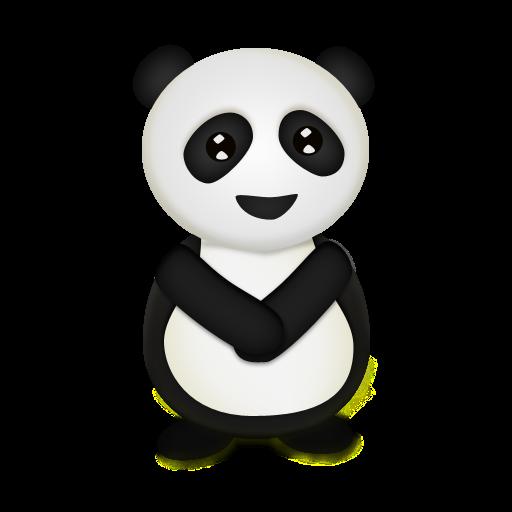 Trans, Animal, Panda, Bear Icon