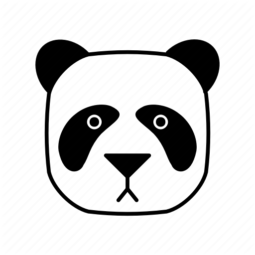 Animals, Bear, Characters, Color, Cute, Panda, Pets Icon