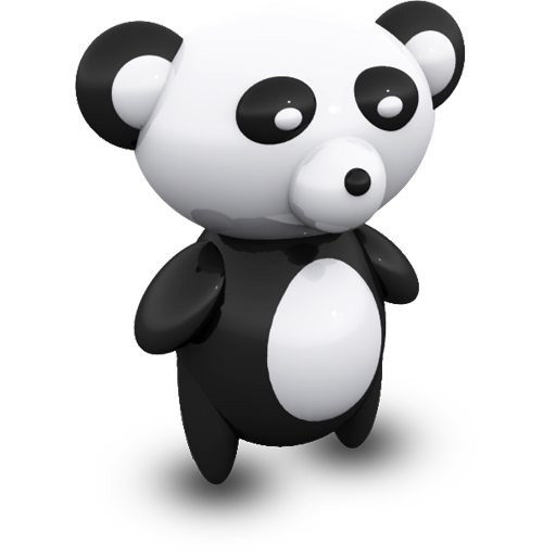 Bear, Panda, Stuffedtoys, Porcelain, Toy, Animal Icon Free