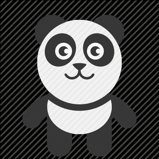 Bear, Panda Icon