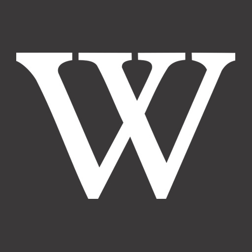 Metro, W, Wikipedia Icon