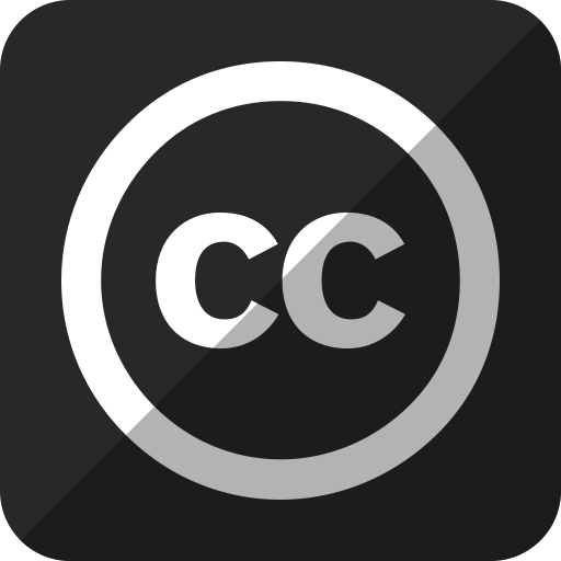 Cc, Common, Creative Icon