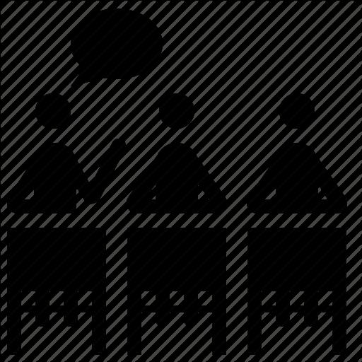 Classes, Discussion, Panel Icon