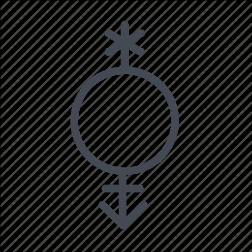 Gender, Pangender, Pansexual Icon