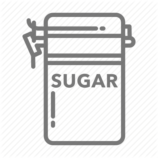 Airtight, Canister, Container, Kitchen, Pantry, Sugar Icon