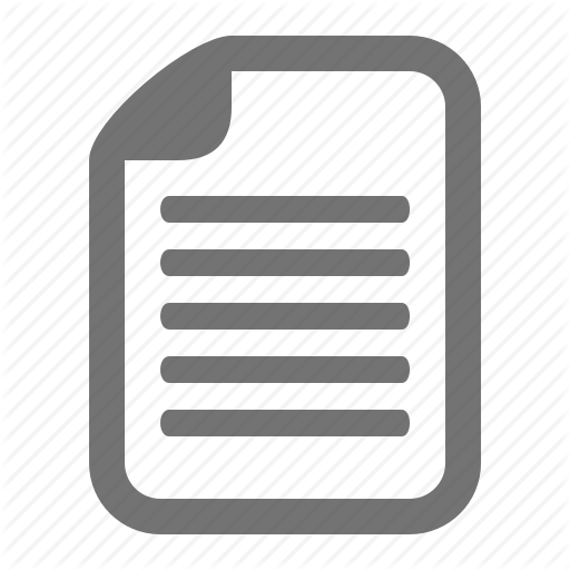 Document, File, Information, Paper Icon