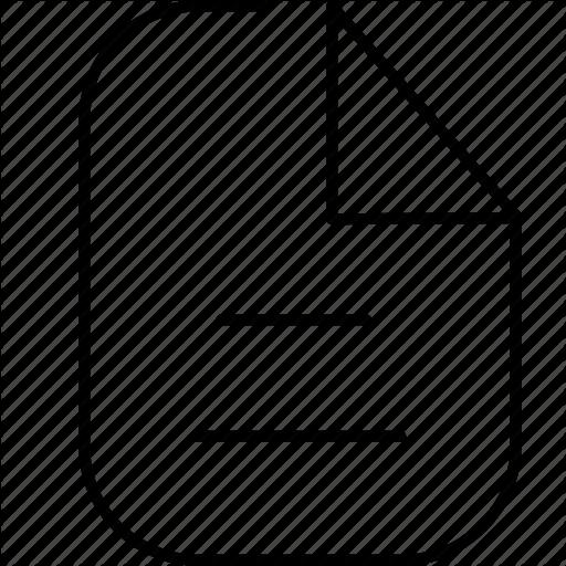 , Folder, Note, Paper Icon