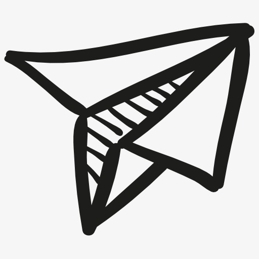 Paper Airplane Icon Symbol, Paper Airplane Png Image And Clipart
