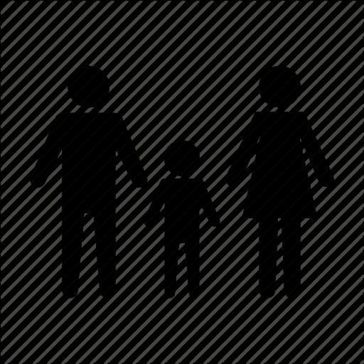 Family, Parent, Parents, Son Icon