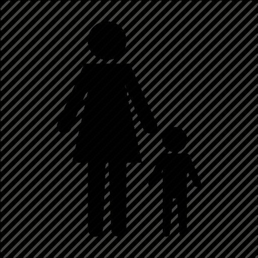 Baby, Child, Children, Family, Parent, Parents, Single, Son Icon