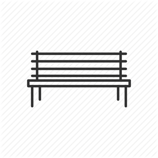 Bench, Chair, City, Furniture, Outdoor, Park, Park Bench Icon