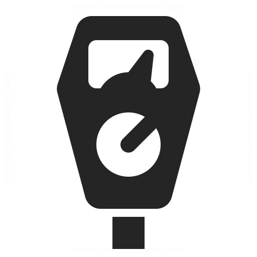 Parking Meter Icon Iconexperience