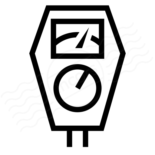 Iconexperience I Collection Parking Meter Icon