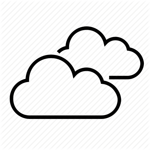 Clouds, Cloudy, Partly Cloudy, Weather Forecast Icon