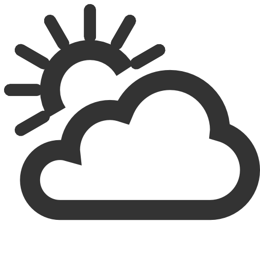 Partly Cloudy Icon Images