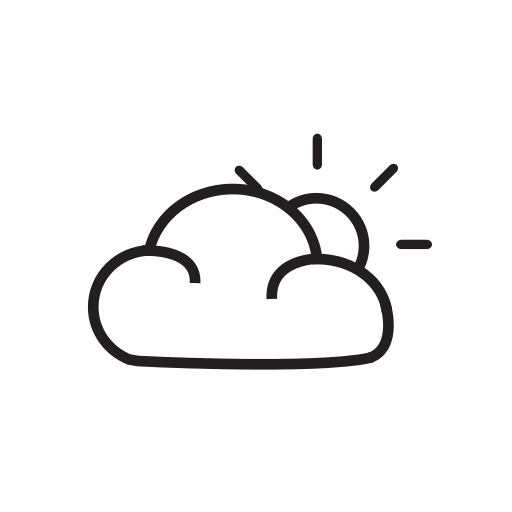 Sunny To Partly Cloudy Wear Symbol Free Icons Download