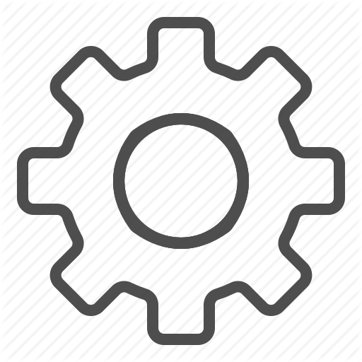 Cogwheel, Gear, Options, Preferences, Settings, Spare Parts Icon