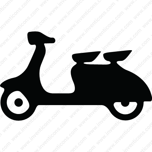 Download Delivery,motorcycle,vehicle,passenger Icon Inventicons