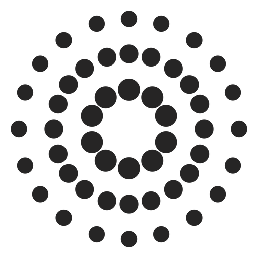 Dotted Patterned Icon