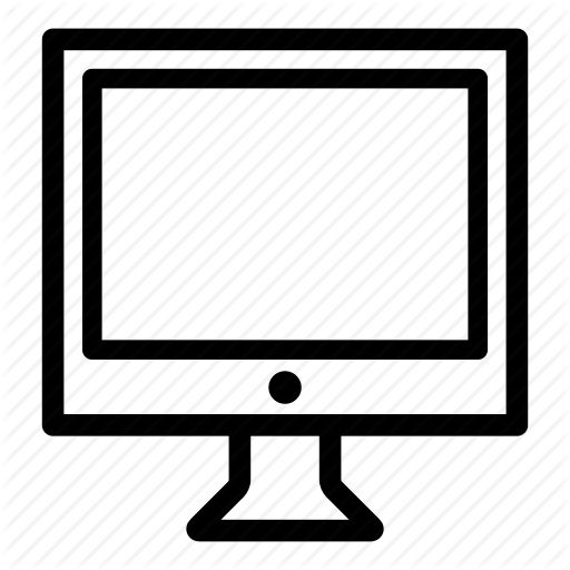 Computer, Desktop, Display, Monitor, Pc, Presentation, Screen Icon