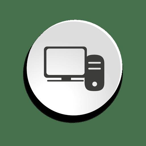 Desktop Pc Bubble Icon