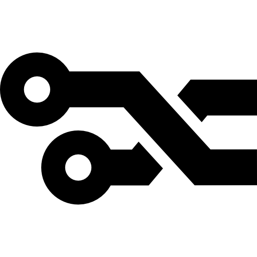 Printed Circuit Connections Icons Free Download
