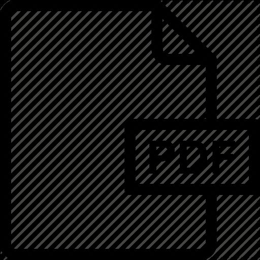 Format, Pdf, Portable Document Format Icon Icon