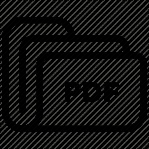 Document, Extension, File, Folder, Pdf, Storage Icon